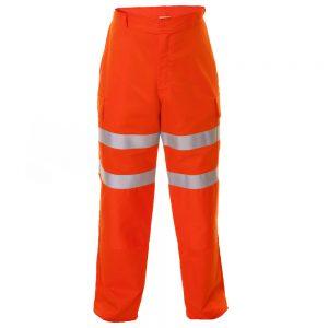 Flame Retardant Orange Cargo Trousers (ETF1101PYO)