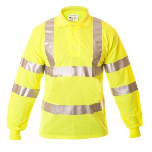 EagleARC+ ARC Flash Hi Vis Polo Shirt (ETF330HVA)