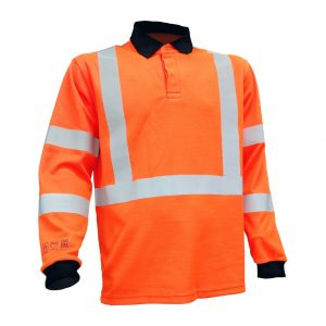 EagleARC+ ARC Flash Hi Vis RIS TOM Polo Shirt (ETF332OA)