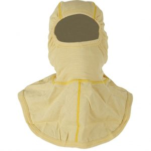 Yellow Half Shoulder Kermel Flash Fire Hood (ETF8YKV)