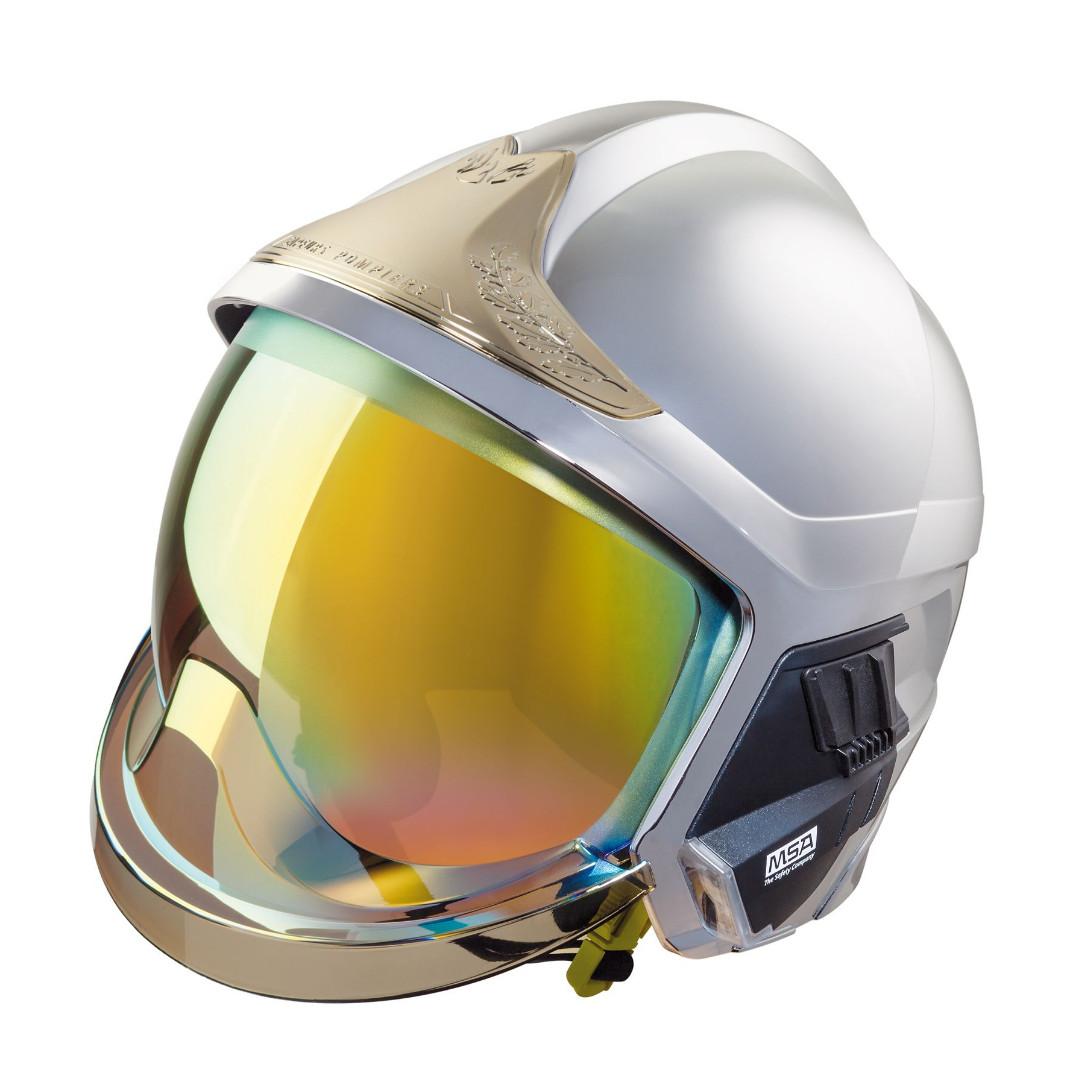 Msa Gallet F1 Xf Firefighter Helmet Etff1xf Eagle Fr