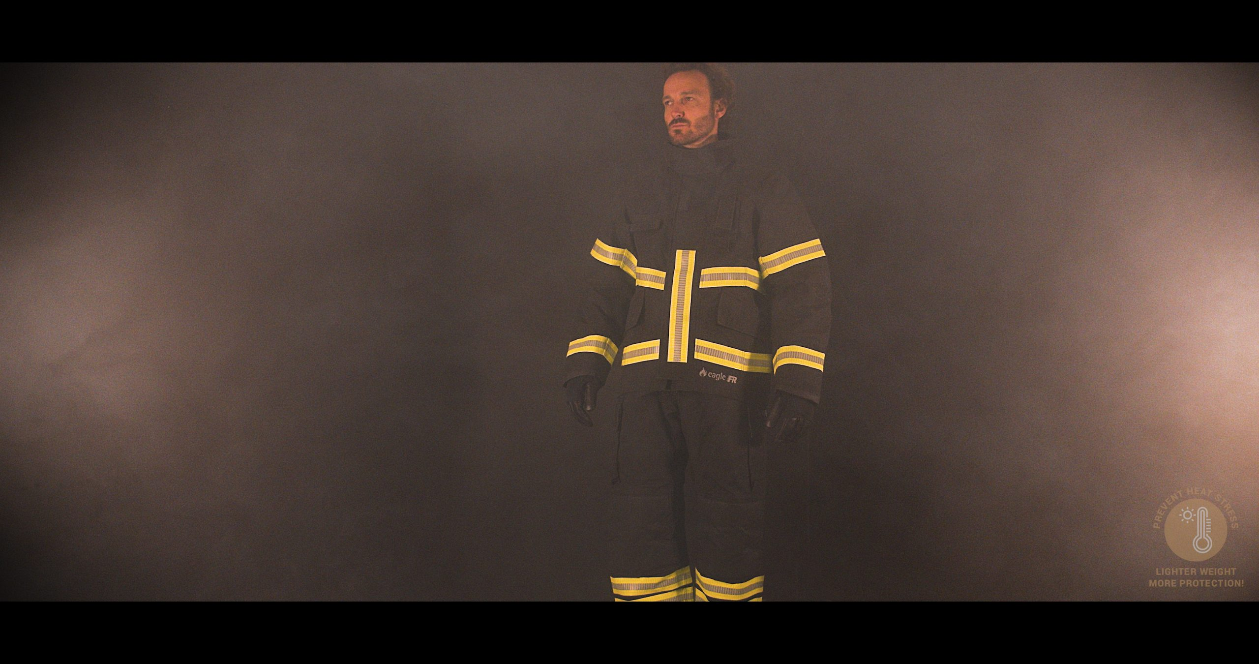 Eagle Vulcan Fire Suit with PBI Gemini XTL, Stedair 3000E & NightGlow